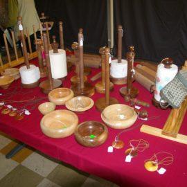 Assorted woodwork