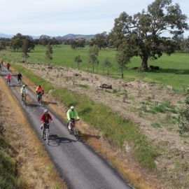 Riding the Great Victorian Rail Trail